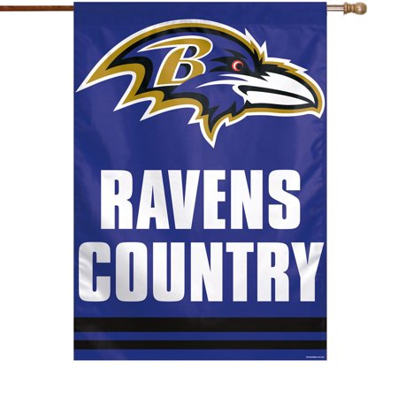 """Baltimore Ravens WinCraft 28"""" x 40"""" Country Single-Sided Vertical Banner - No Size"""