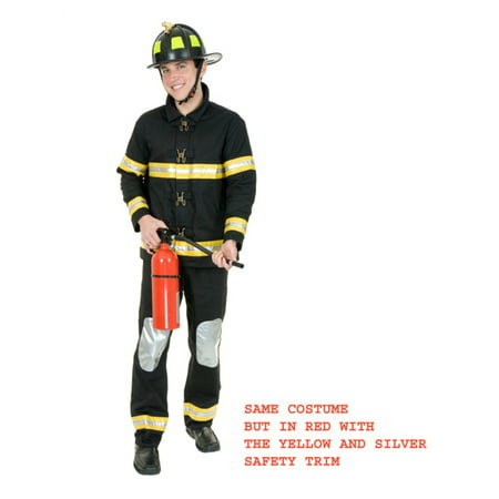 Fireman Outfit For Adults (Fireman Bunker Gear Costume)
