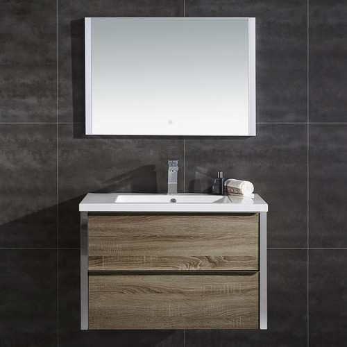 Ove Decors Theo 32'' Single Bathroom Vanity with Mirror