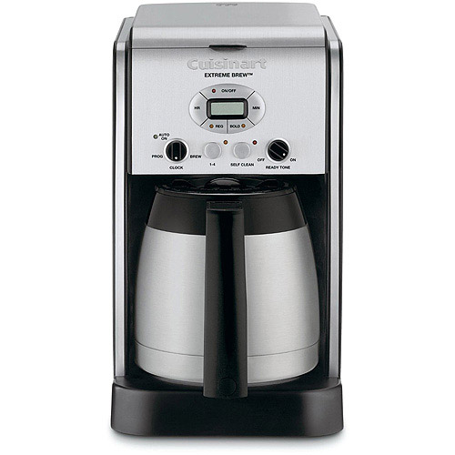 Cuisinart Extreme Brew 10-Cup Thermal Programmable Coffeemaker, Polished Chrome DCC-2750