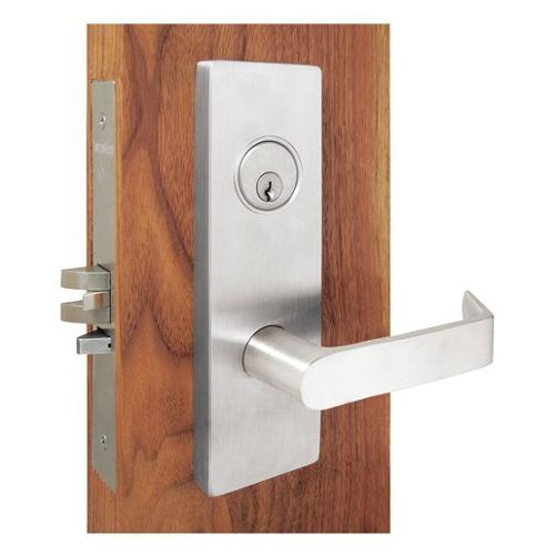 TOWNSTEEL MSE-122-G-DB-626 Mortise Lockset, Satin Chrome, 12DCV