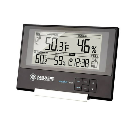 Meade Instruments Slim Line Personal Weather Station with Atomic