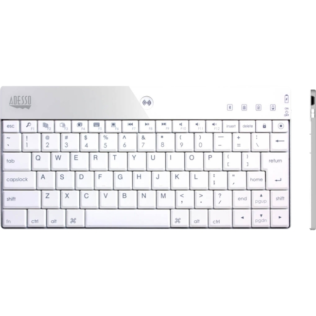 Adesso Bluetooth Mini Keyboard 1000 for iPad WKB1000BW