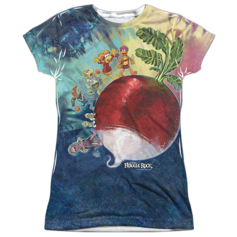 Fraggle Rock Giant Radish Juniors Sublimation Shirt