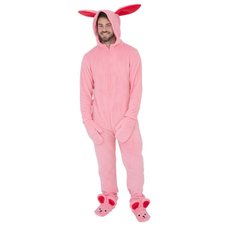 A Christmas Story Bunny Union Suit Pajama Costume for $<!---->