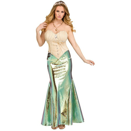 Mermaid Womens Adult Mythical Sea Creature Halloween - Adult Mermaid