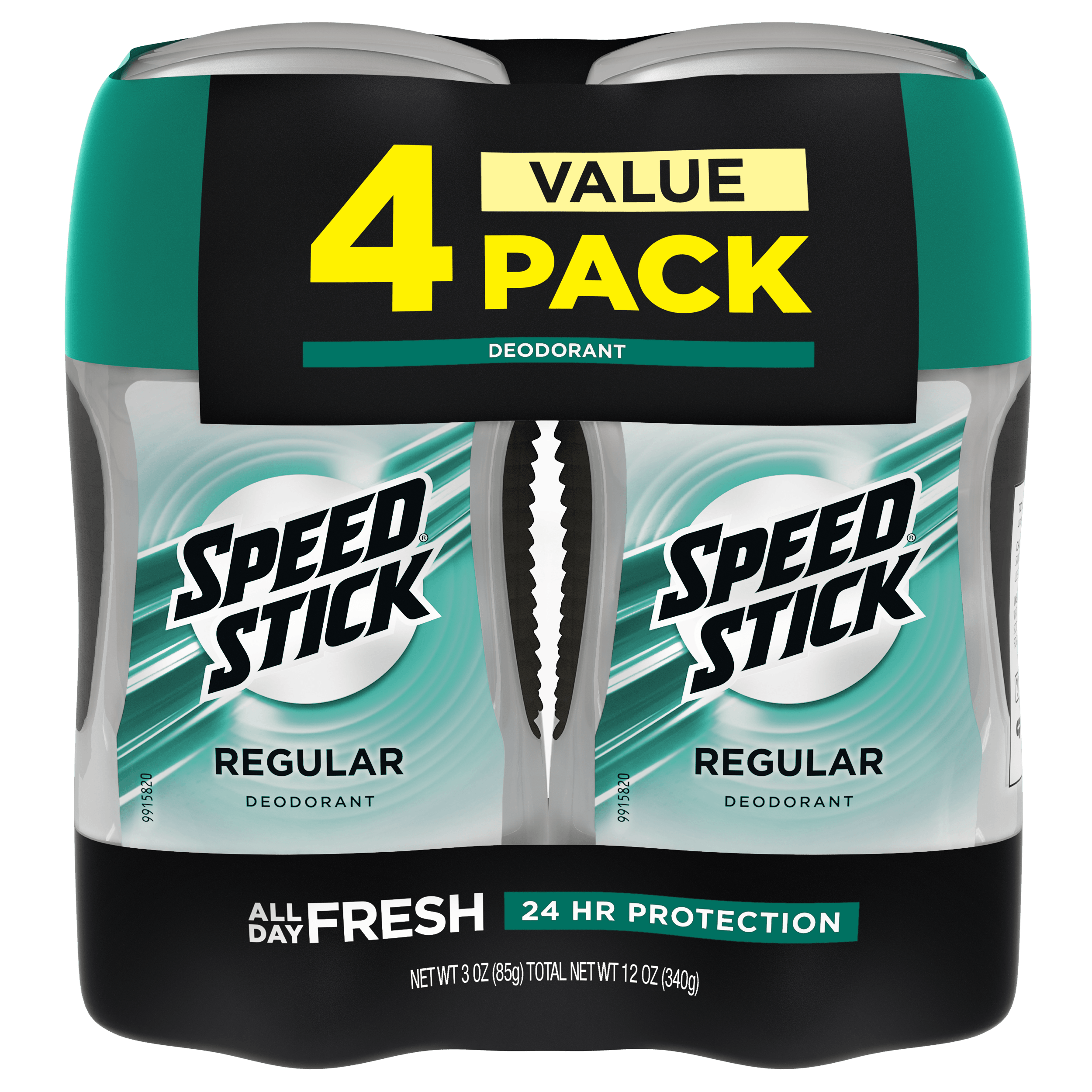 Speed Stick Regular Deodorant - 3.0 oz (4 Pack)