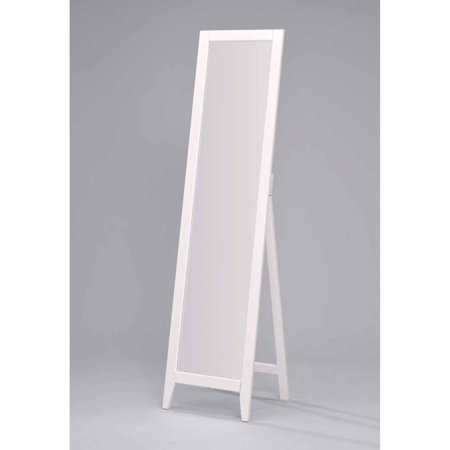 K & B Furniture Wood Floor Mirror