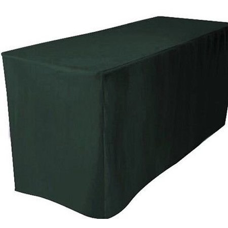 6 Ft Fitted Polyester Table Cover Trade Show Booth Dj