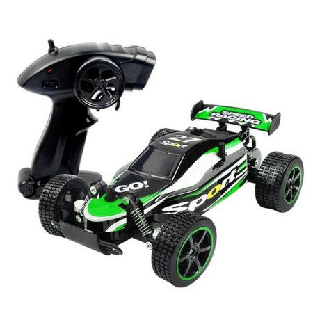 1:20 Scale 2.4GHz Radio Remote Control Off-Road Vehicle RC Racing Car (Green)
