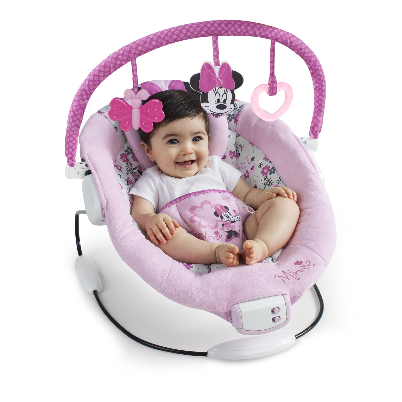 Disney Baby Minnie Mouse Garden Delights Bouncer Walmart