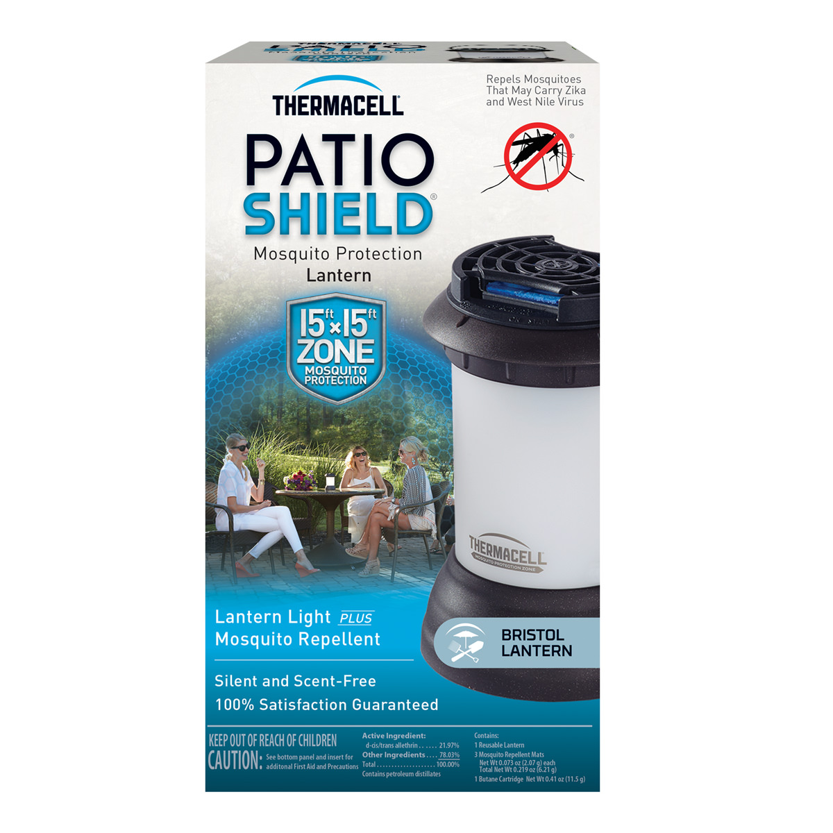 Thermacell Mosquito Repellent Bristol Lantern Light