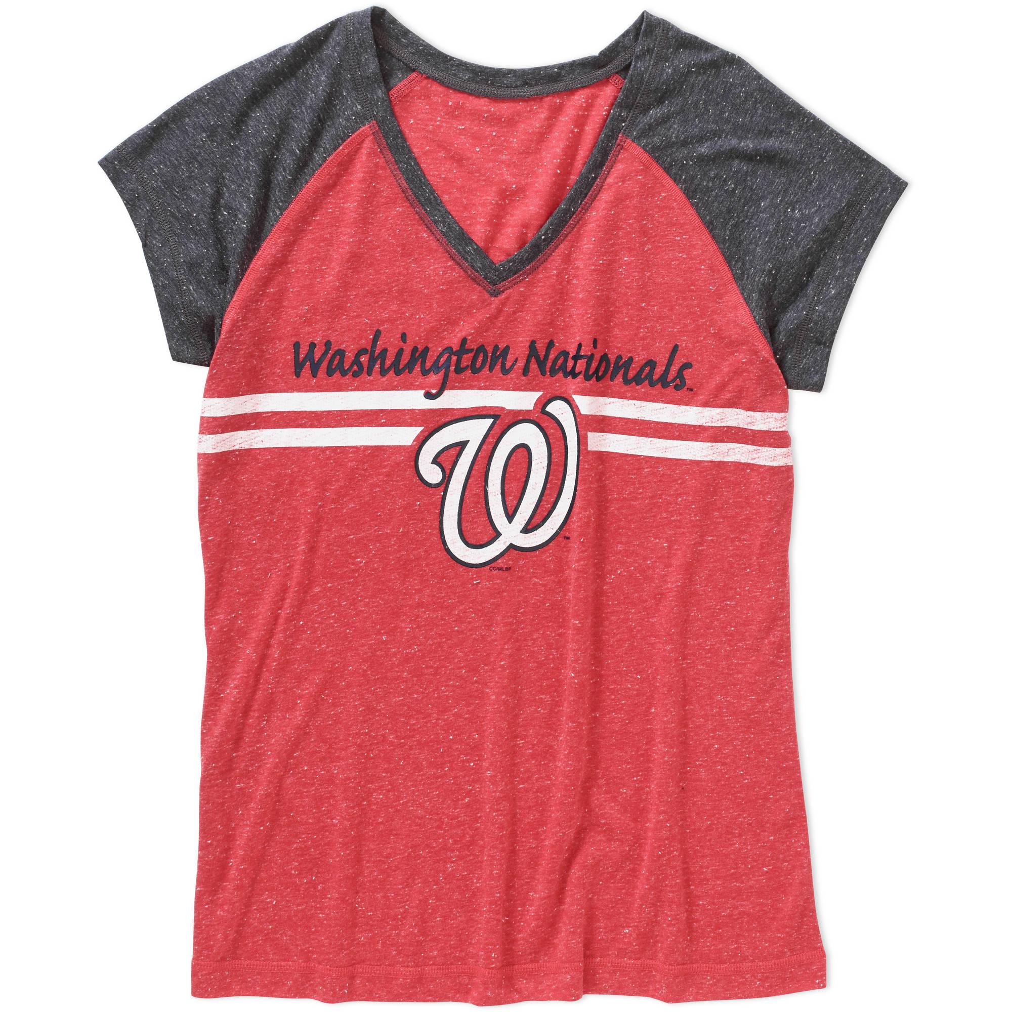 MLB Women's Washington Nationals Short Sleeve Top