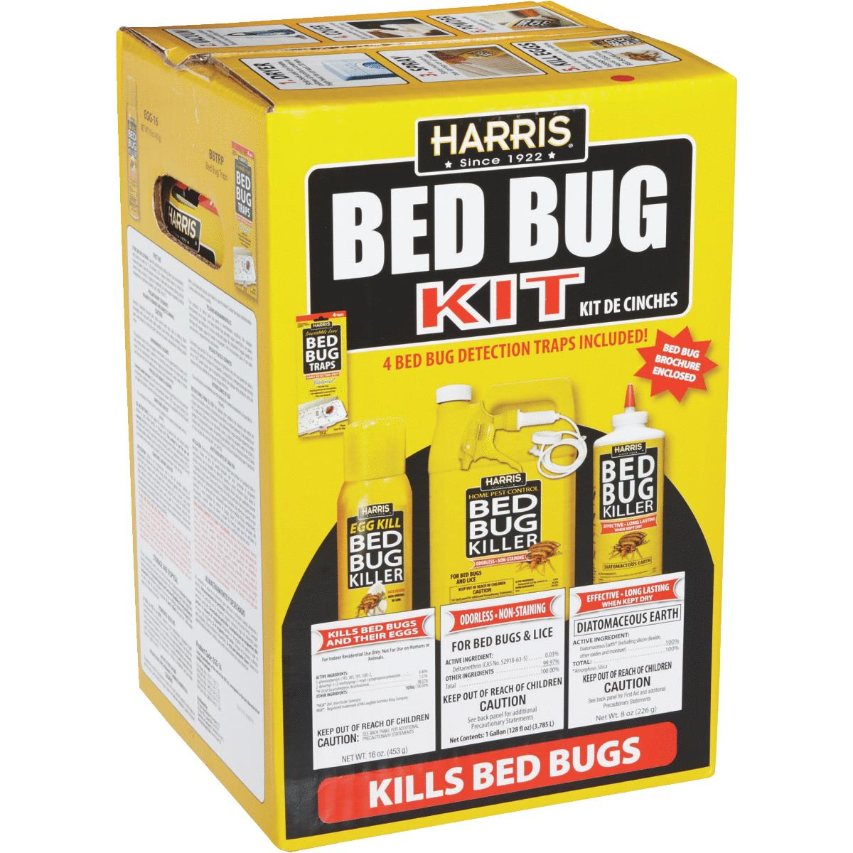 harris bedbug killer kit - walmart