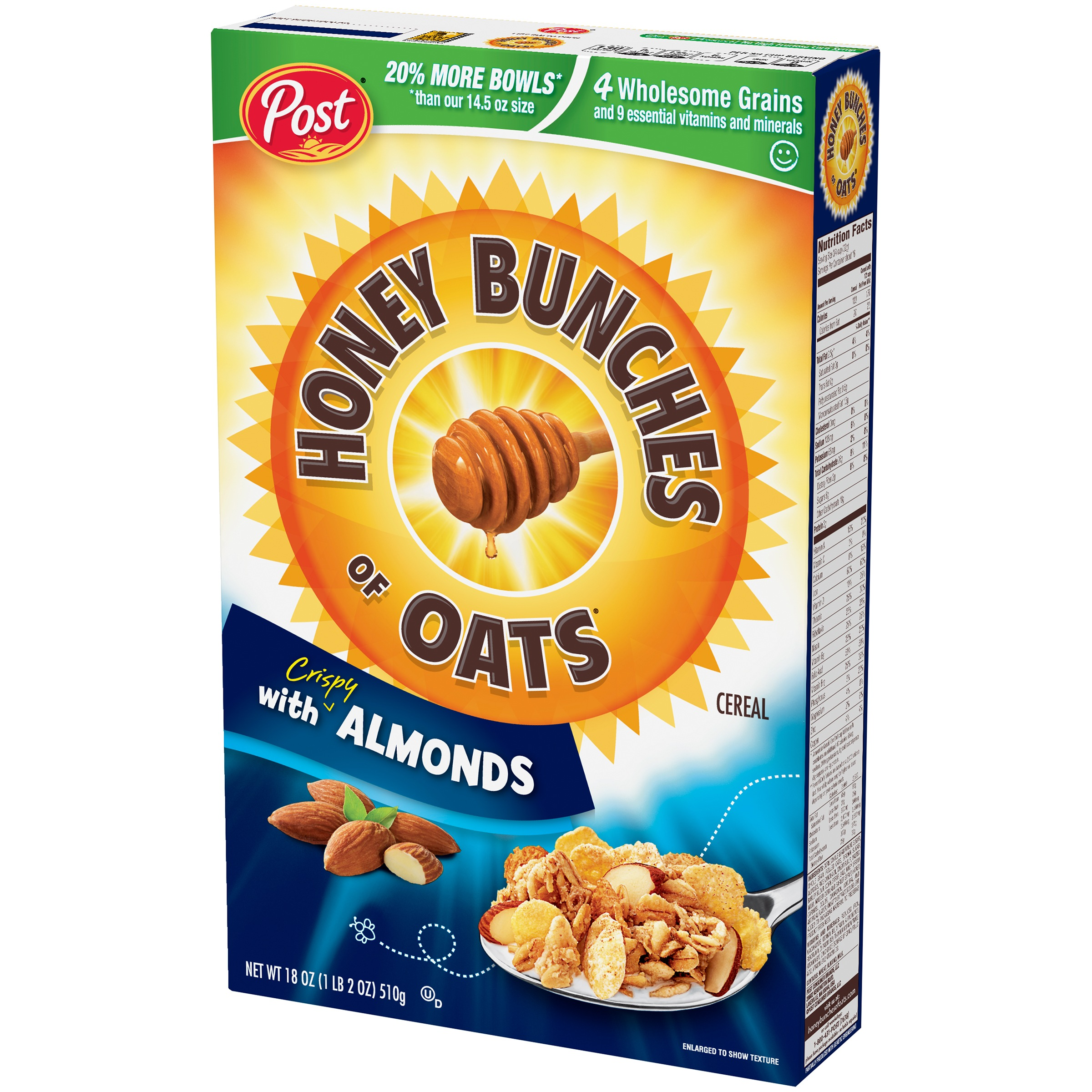 Honey Bunches Of Oats Breakfast Cereal