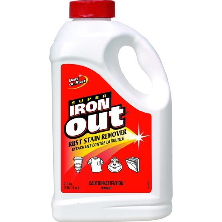 Super Iron Out C-IO65N Rust Stain Remover, 2.1 kg, White, Powder, Solid, Characteristic per 6 EA