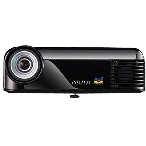 ViewSonic PJD2121 400 Lumens Ultra Portable PICO DLP Projector 2.1LBS by Viewsonic Corporation