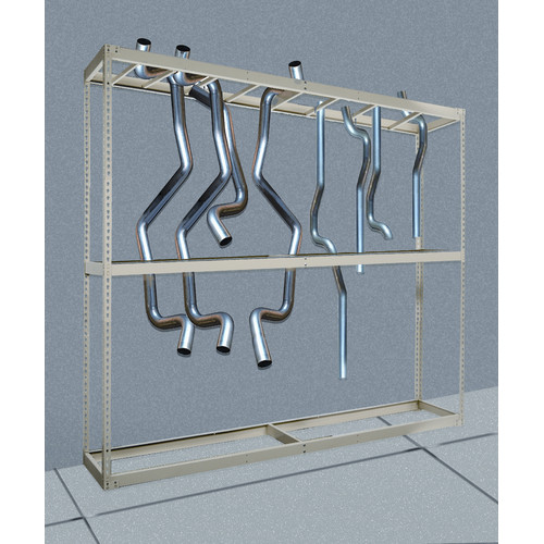 Hallowell Rivetwell Tailpipe Storage 120'' H Shelving Unit Starter