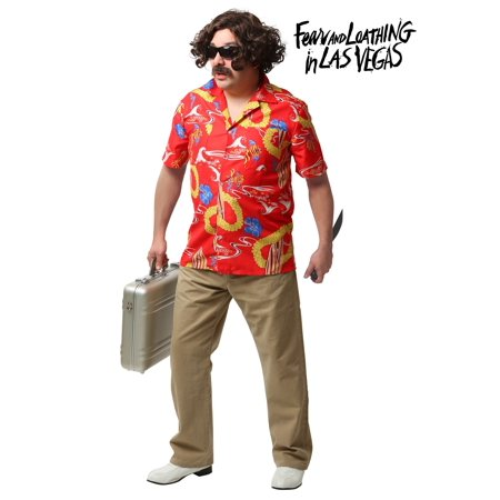 Fear and Loathing In Las Vegas Adult Dr. Gonzo Costume (Las Musicas De Halloween)