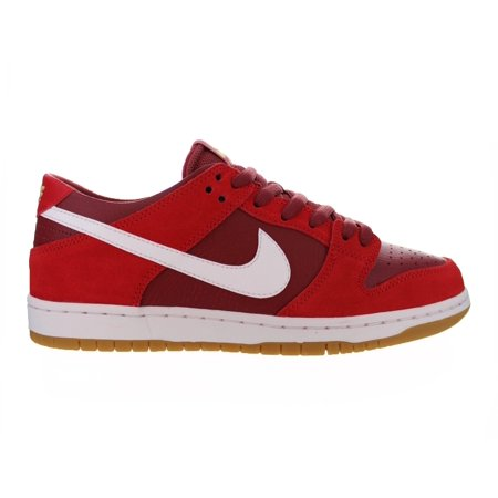 da2cc8cc6d7c Nike - Mens Nike SB Zoom Dunk Low Pro Track Red White Cedar 854866-616 -  Walmart.com