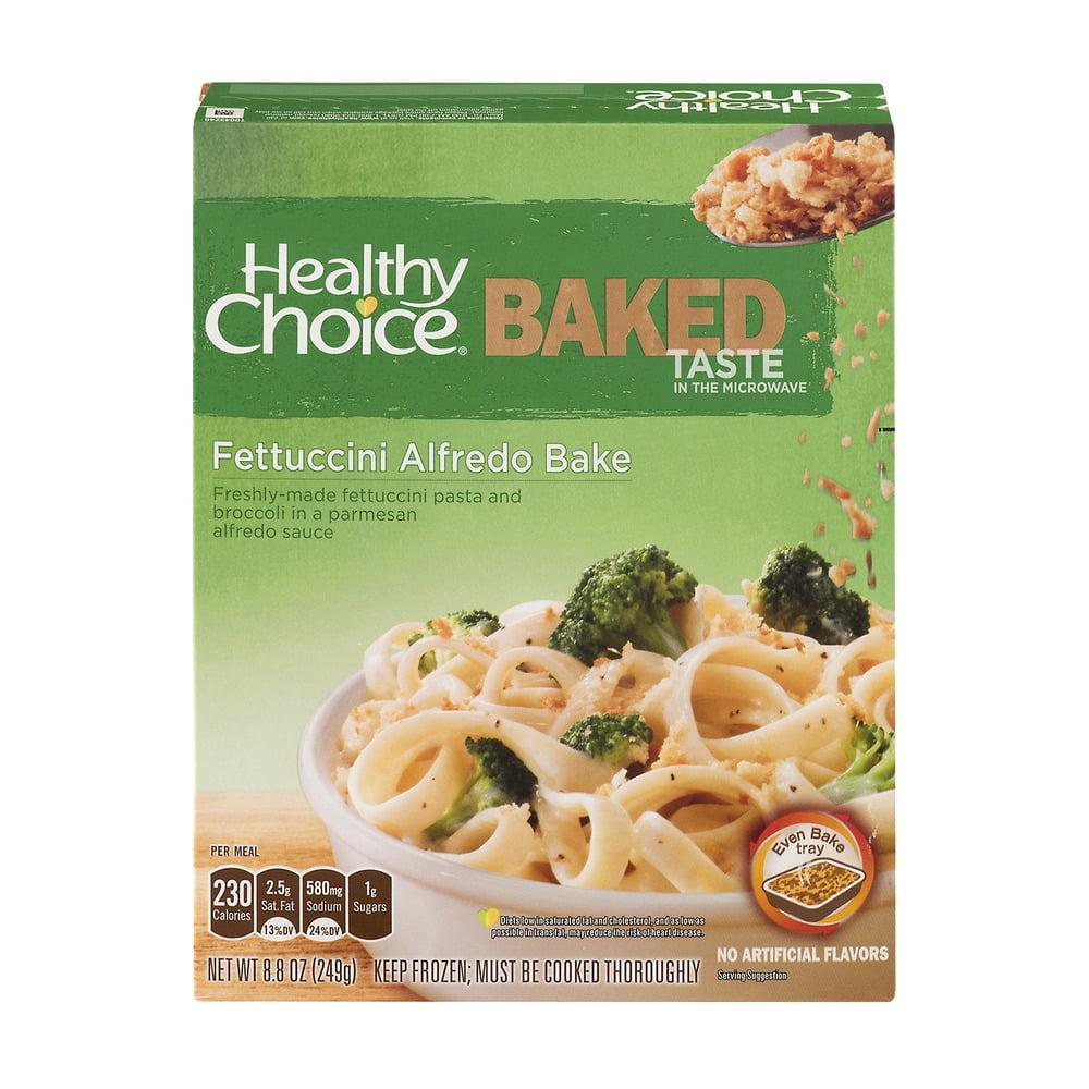 Healthy Choice Baked Fettuccini Alfredo Bake, 8.8 OZ