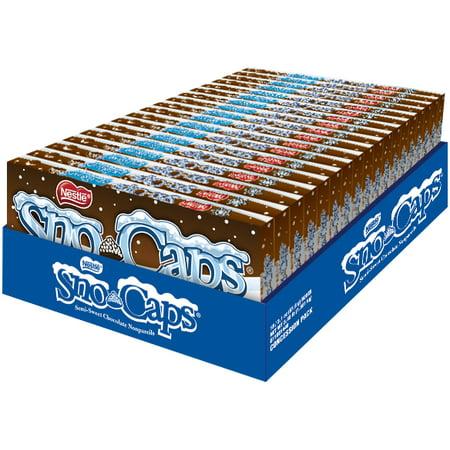 Sno-Caps, Semi Sweet Chocolate Bites, 3.1oz (Box of
