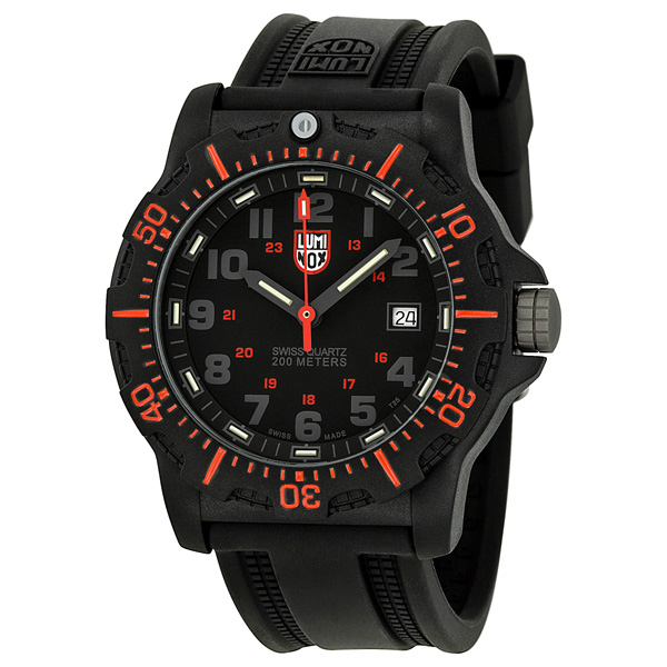 Luminox Black Ops Black Dial Rubber Mens Watch 8815