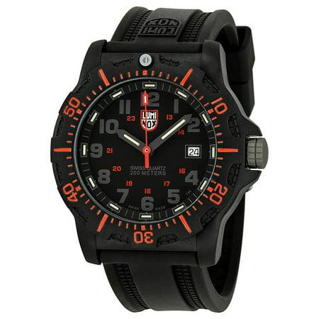 Black Rubber Watch - Luminox Black Ops Black Dial Rubber Mens Watch 8815