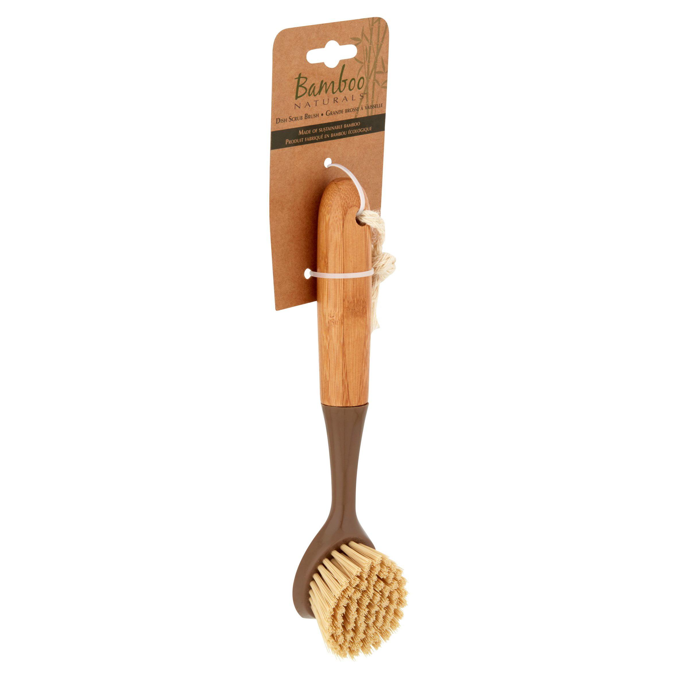 Evri Bamboo Dish Scrub Brush - Walmart.com
