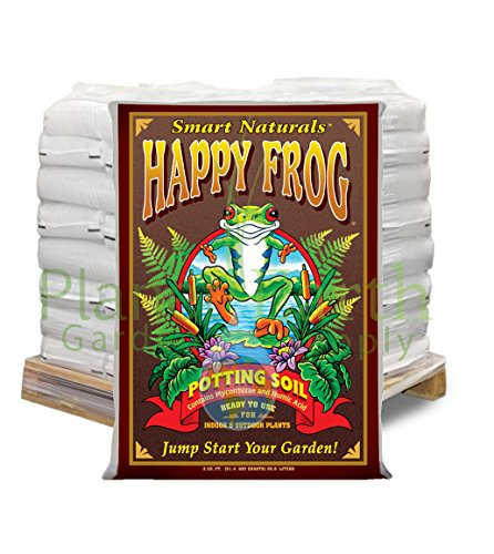 FoxFarm FX14047 1.5 Cubic Feet Happy Frog (46 bags) Potting Soil by the Pallet