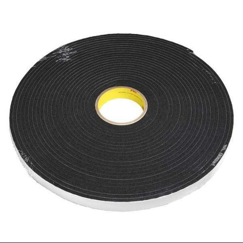 3M 4504 Foam Tape, 1 In x 18 yd., Black