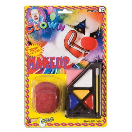 Circus Clown Make Up Costume Kit - image 1 of 1