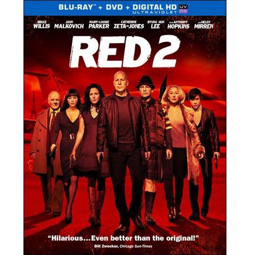 Red 2 (Blu-ray + DVD + Digital HD) (With INSTAWATCH) (Widescreen)