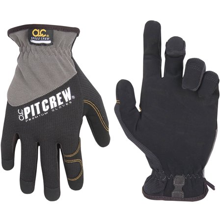 Ford Racing Mechanics Gloves - CLC Work Gear 217L Large Speed Crew Mechanics Gloves