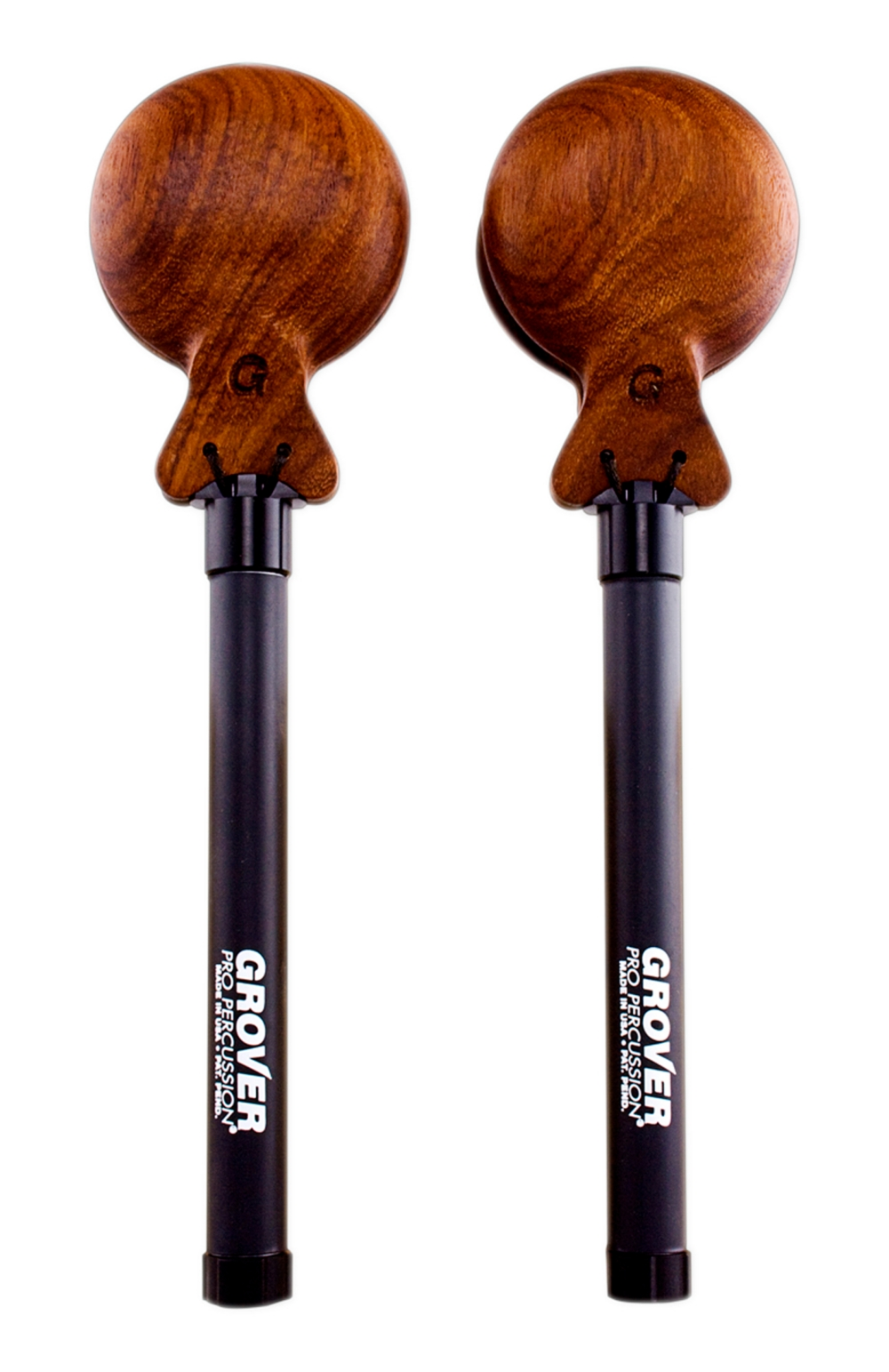 Grover Pro Granadillo Adjustable Tension Castanets (Pair) Large by Grover Pro