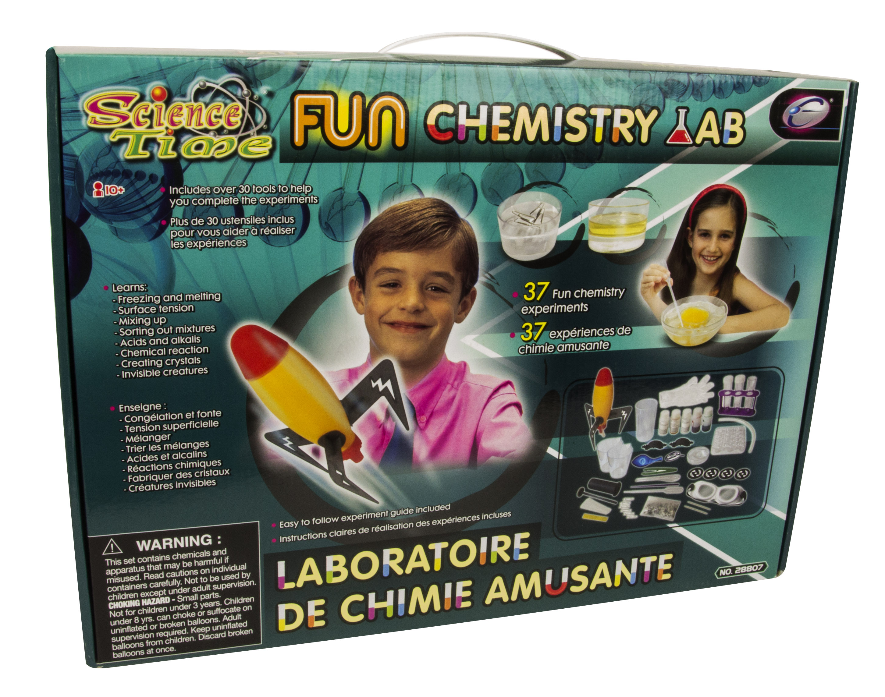 Science Time S.T.E.M Fun Chemistry Lab by EASTCOLIGHT (HONG KONG) LIMITED