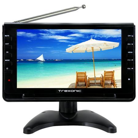 Trexonic Portable Ultra Lightweight Rechargeable Widescreen 9