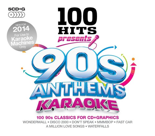 100 Hits Presents-90s Anthems Karaoke 100 Hits Presents-90s Anthems Karaoke [CD] by