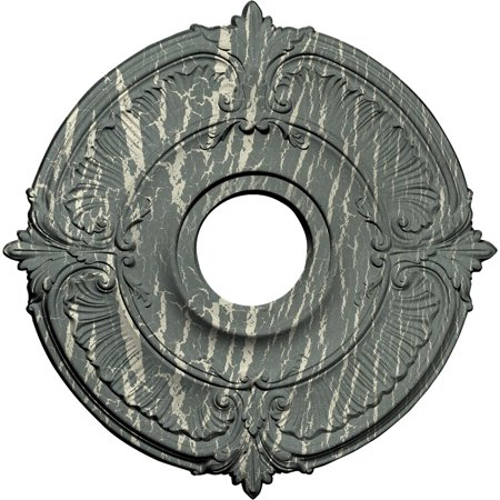 18 OD x 4 ID x 5 8 P Attica Ceiling Medallion Fits Canopies up to 5 H