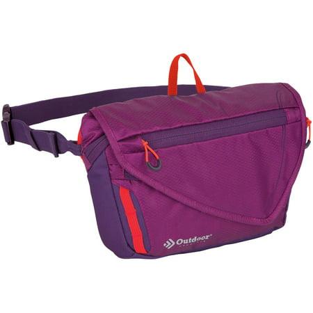 Custom Outdoor Pack (Outdoor Products Marilyn Waistpack Fanny Pack Shoulder Bag Sling, Blackberry)