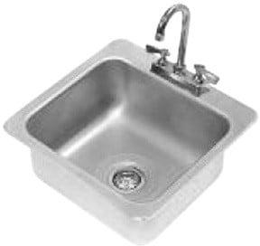 Advance Tabco Drop in One Compartment Sink Model DI-1-168