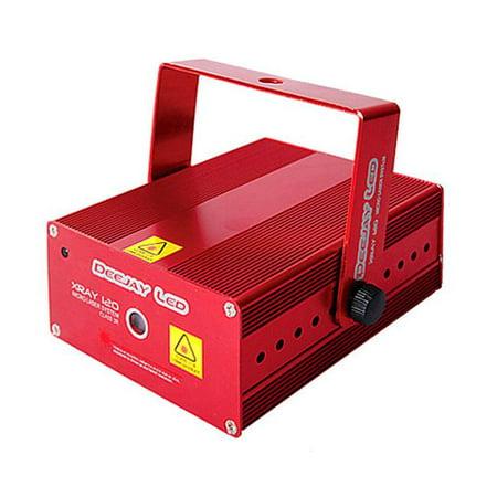 DEEJAY LED XRAY120 40mV Micro Laser System - Red - Green (Laser Light System)