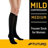 FUTURO Women's Trouser Socks, Moderate Compression
