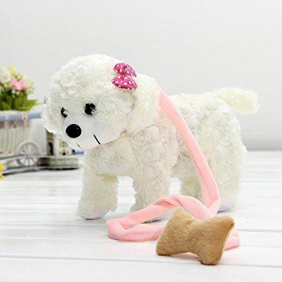 electronic singing dancing husky pet dog toy walking pupp...
