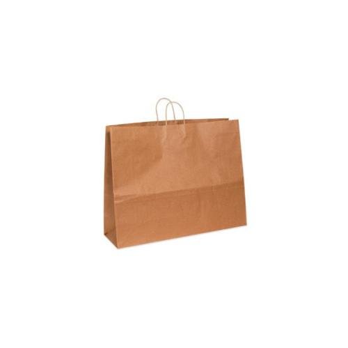 Shoplet select Kraft Paper Shopping Bags SHPBGS112K