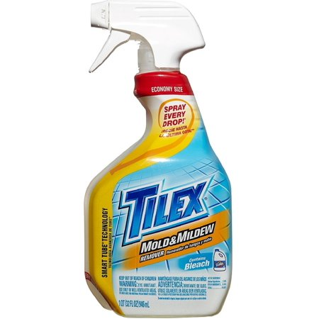 Tilex Mold & Mildew Remover Spray with Bleach 32 oz (Pack of 2) ()