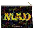 Mad So Much Mad Accessory Pouch White 8.5X6