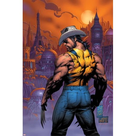 New X-Men No.151 Cover: Logan Print Wall Art By Marc Silvestri