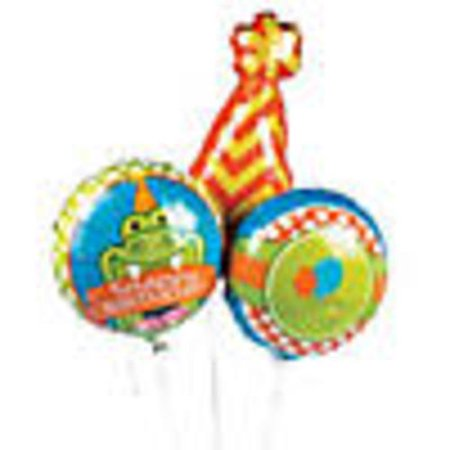 Balloon Gator (Happy Snappy Birthday Alligator Mylar)