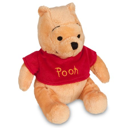 Disney Store Winnie the Pooh Plush Mini Bean Bag 7'' New with - Tiger From Winnie The Pooh